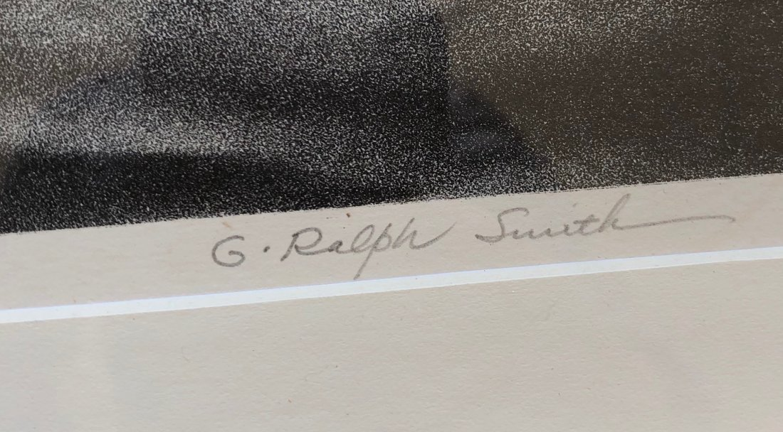G. RALPH SMITH (Pennsylvania, 1907-2007) Lock House - 3