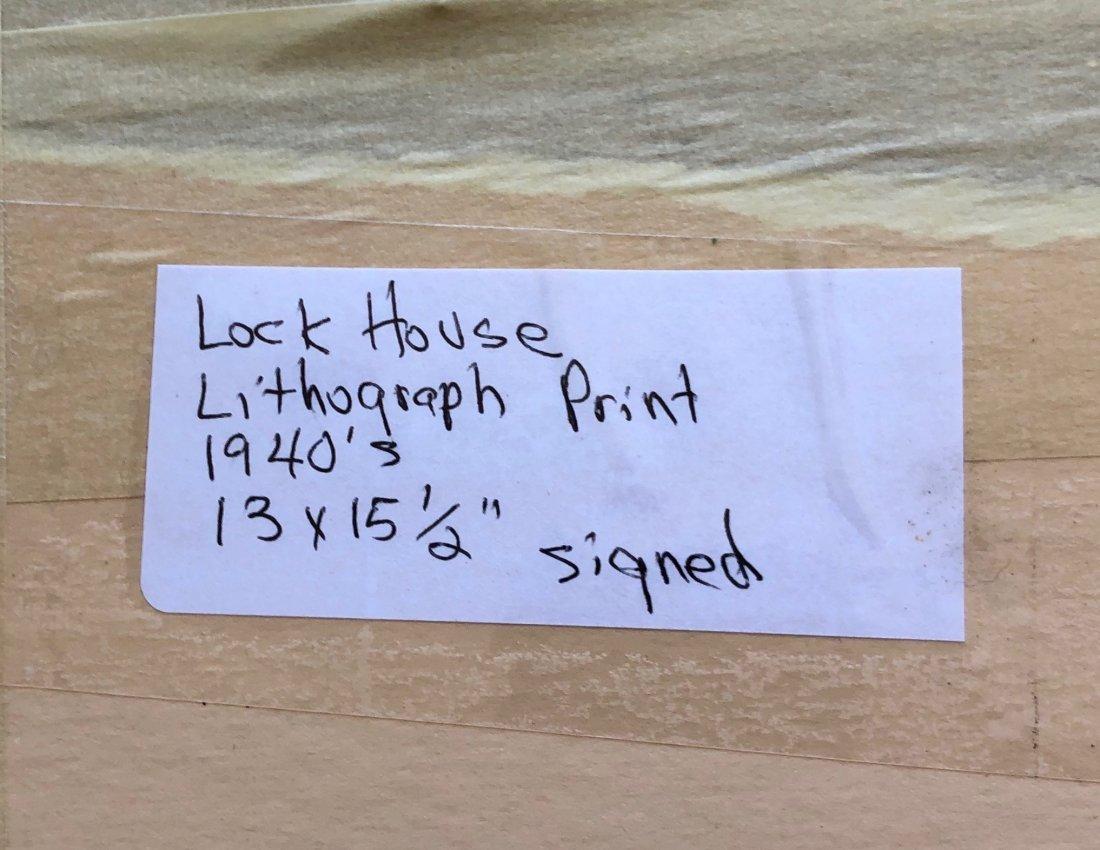G. RALPH SMITH (Pennsylvania, 1907-2007) Lock House - 5