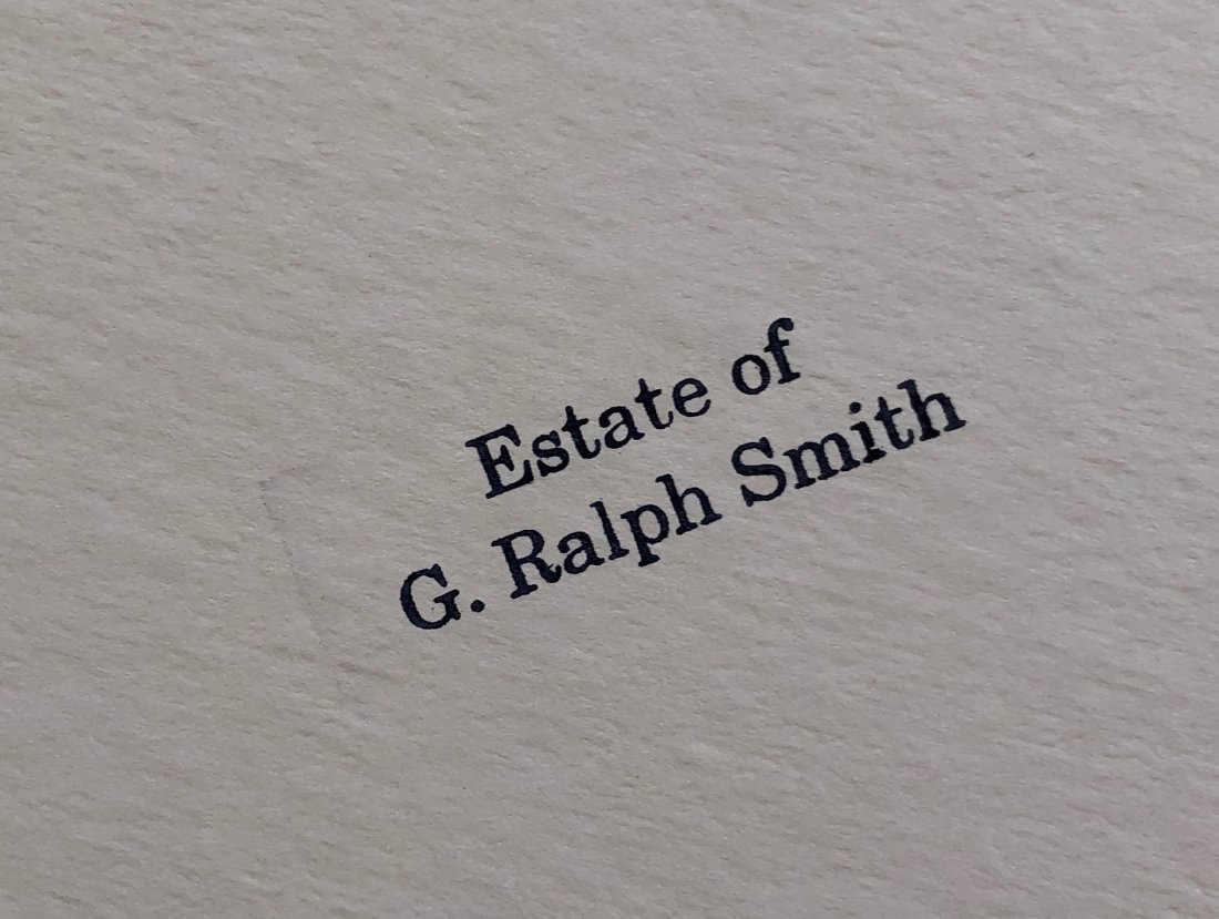 G. RALPH SMITH (Pennsylvania, 1907-2007) Lock House - 6