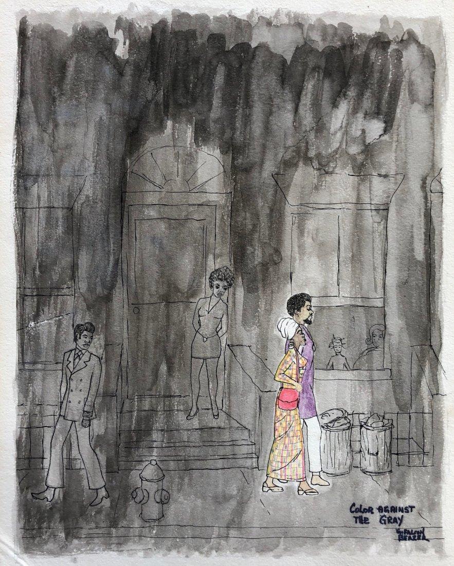 G. FALCON BEAZER African American Illustration