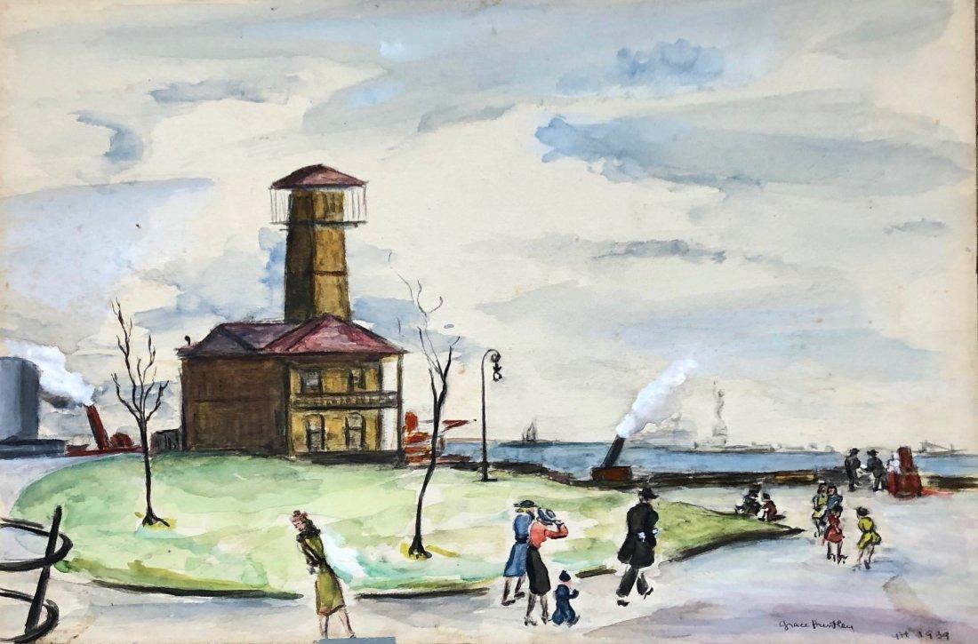 GRACE HUNTLEY PUGH (1912-2010, American) WPA 1939