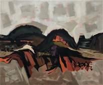 KENNETH EVETT (1913-2005, Colorado) Landscape