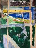 PARIS PREKAS (1926-1999, Greece) Modernist, Abstract