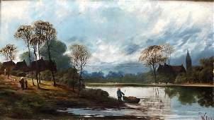 WILLIAM CAVE DAY 18621924 UK Landscape