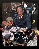 Mel Blanc Signed Warner Brothers Print 1978