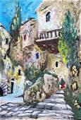 LEO KAHN 18941993 Israel Street Scene