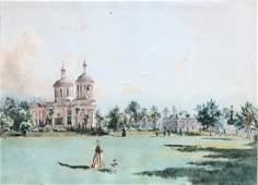 JOHANN NEPOMUK RAUCH (1804-1847, Austria) Russia Scenes
