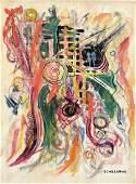 ALBERT SCHILLER (1899-1970, New York) Abstract