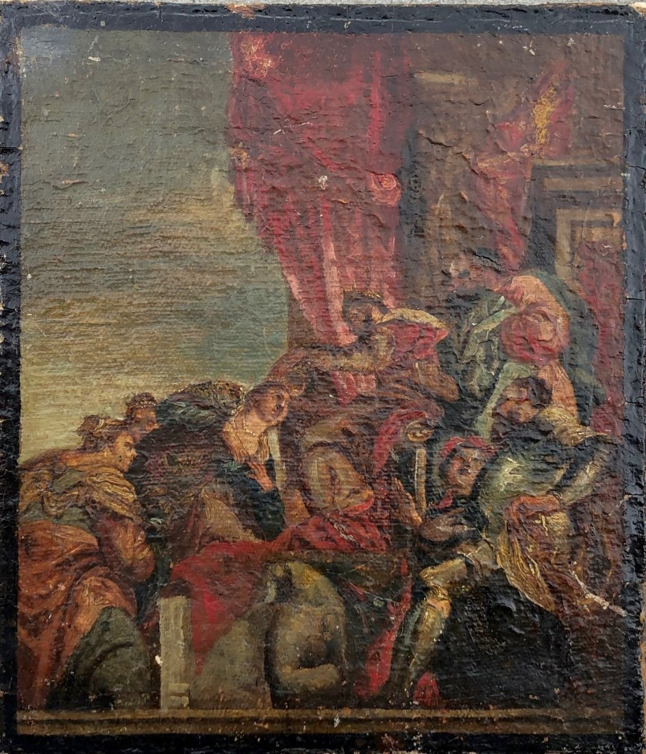 Old Master Painting Casa Belmonti Rimini, Italy
