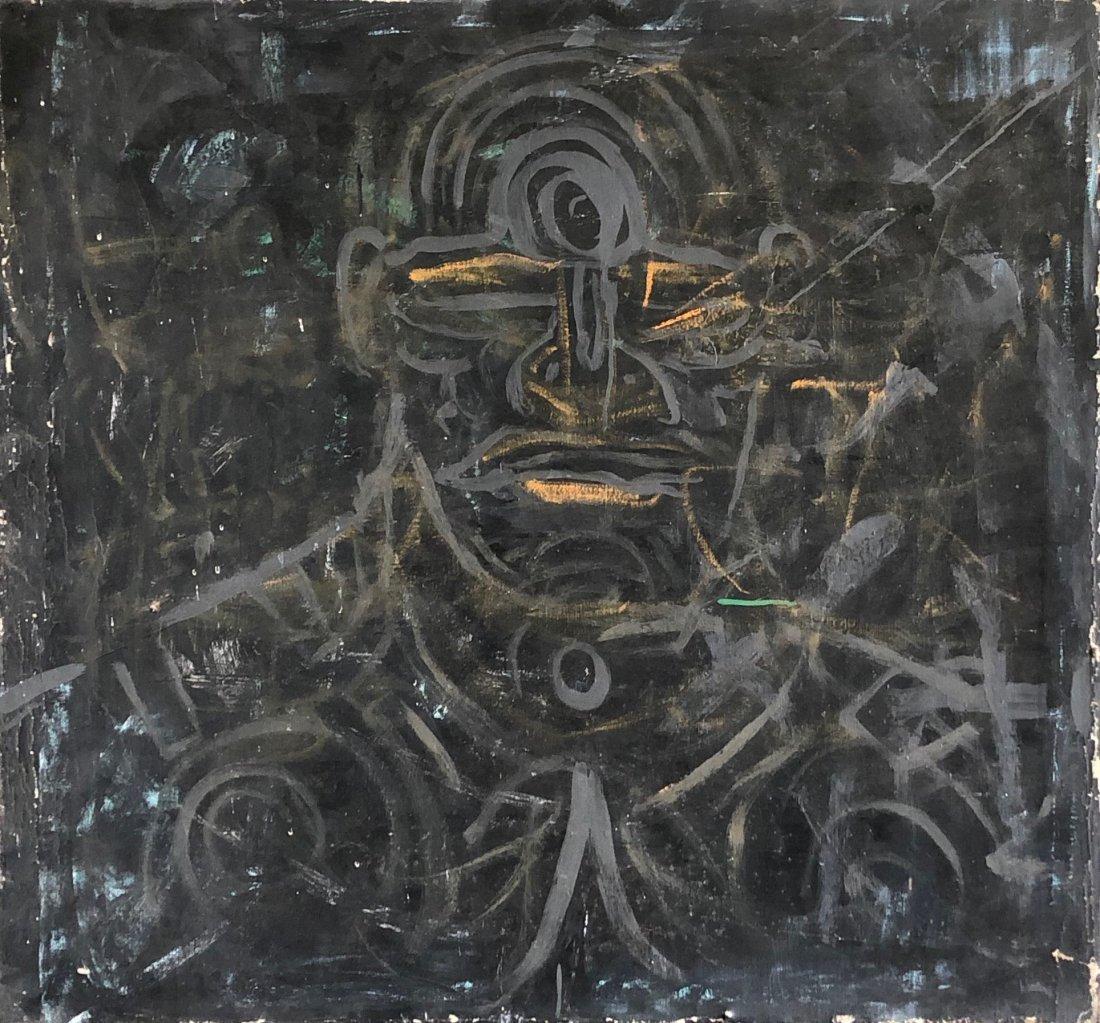 ROBERT LOUGHLIN (1941-2001, New York) Modernist