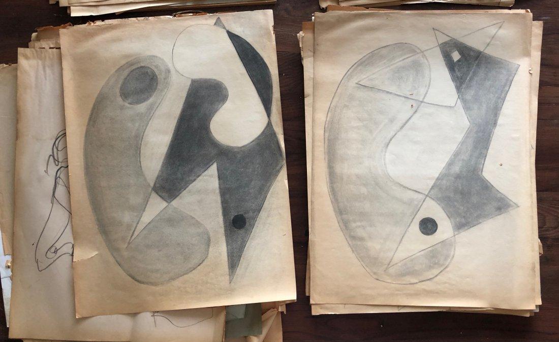 LLYOD NEY (1893-1965, Pennsylvania) Large Portfolio