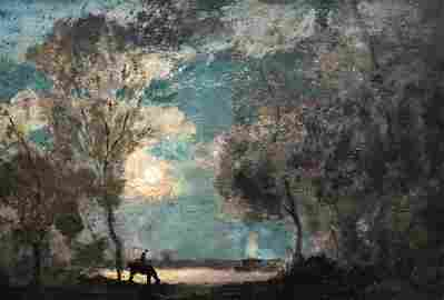 HENRY WARD RANGER (1858-1916, Connecticut) Landscape