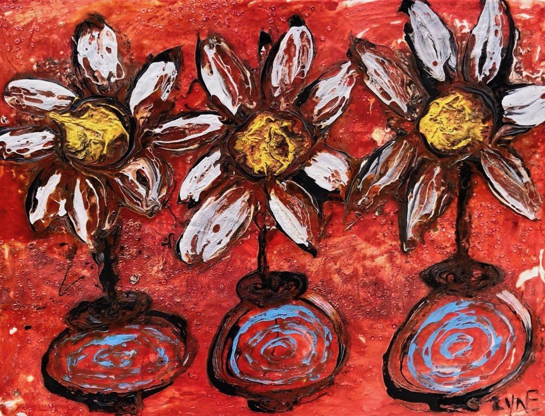 RICHARD GORDON ZYNE (20th c, Maryland) Flowers