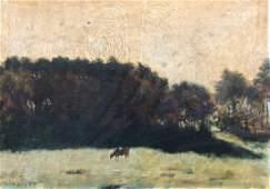 HENRI MEURISSE (1860-1900, French) Impressionist