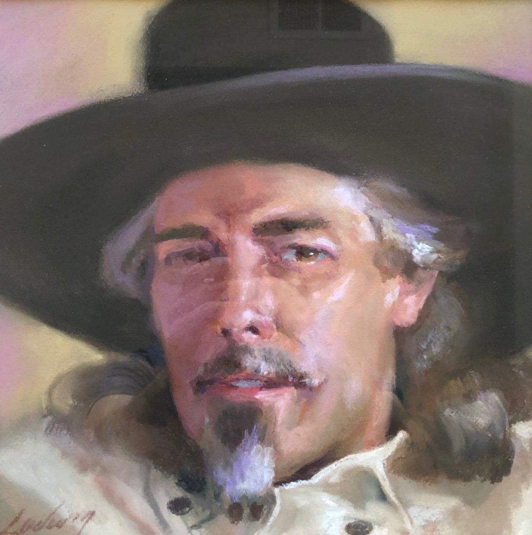 TERRY LUDWIG (20th c, Colorado) Impressionist Portrait