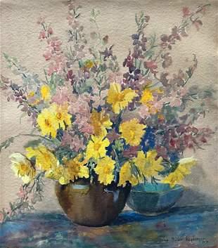 LONA KEPLINGER (1876-1956, Maryland WPA) Still Life