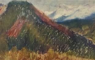 ADOLF KAUFMANN (1848-1916, Germany) Landscape