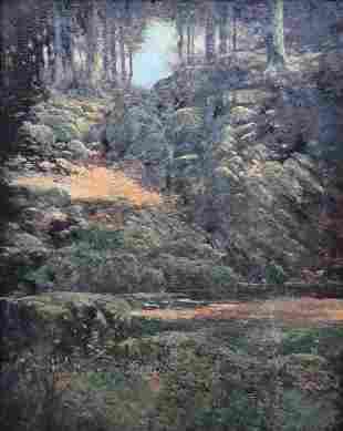 DE LANCEY GILL (1859-1940 South Carolina) Impressionist