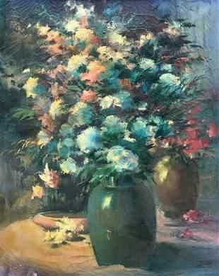 HOWARD CONNOLLY (1903-1990, Rhode Island) Flowers
