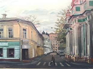 SERGEY GONKOV  (b. 1958, Moscow, Russia) Impressionist