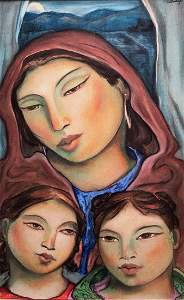 MIGUEL MARTINEZ (b. 1951, New Mexico) Family Life