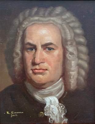 P RICHARD EICHMAN (20th c, Maryland) Bach