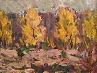 MARTIN KRUMINS (1900-1992, Latvia) Landscape