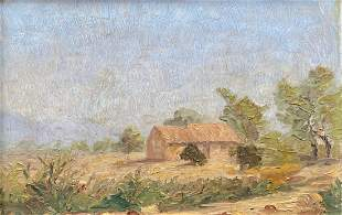 Early Impressionist American Landscape, Unknown Artist