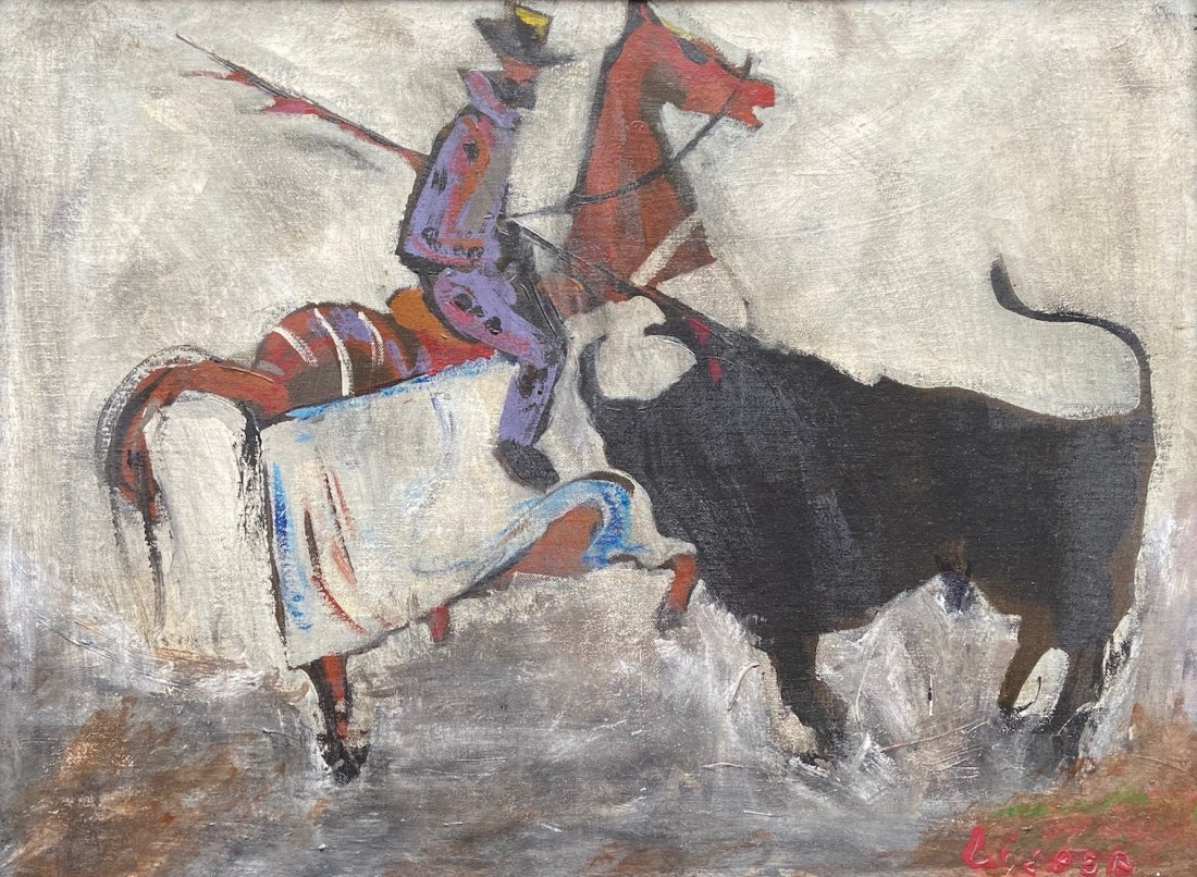 DAVIS LISBOA (Barcelona, 1965) Bullfighter