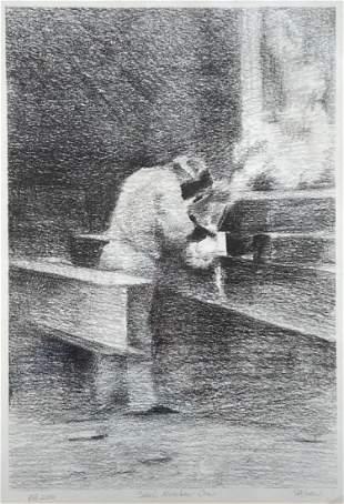 BILL STILSON (20th c, Massachusetts) Steel #1