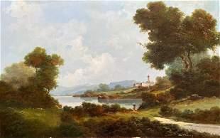 TONI BORDIGNON (b. 1927, France) Large Landscape