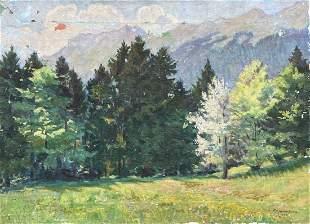 FRIDA A BERSEN-HUBER (20th c, Swedish) Impressionist