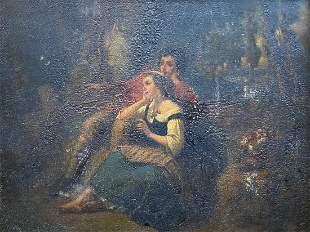19th Century European Genre Scene, Unknown Artist