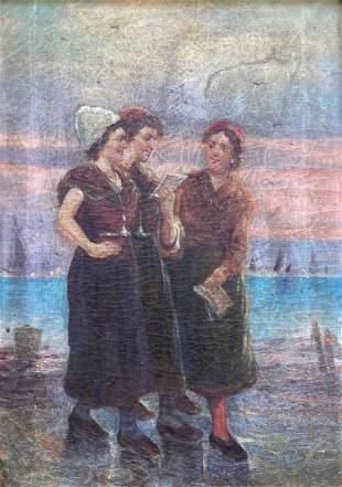 19th Century Dutch Genre Scene, Unknown Artist