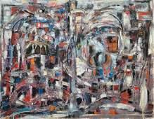 CATHERINE ZAKAS (b. 1936, Greece) Abstract