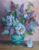 MILDRED GEHMAN (1908-2006, Pennsylvania) Flowers
