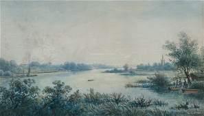 RICHARD WILLIAM HALFNIGHT (1855-1925, UK) Landscape