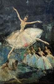 Spanish Modernist Dancers, Illegible Signature