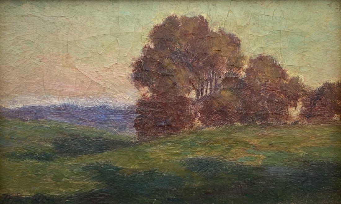 WILLIAM AMSDEN (1859-1993, New York) Landscape