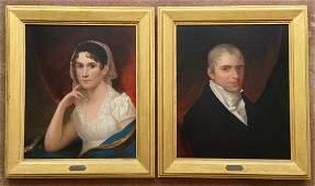 19th Century American Philadelphia Portraits, Empire