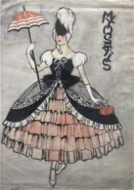 LEON NIKOLAIEVITCH BAKST (1866-1924, Russia)