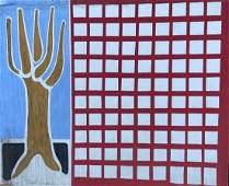 THOMAS M BARNETT 20th c American Modernist Abstract