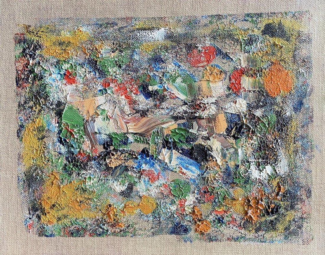 GAY NAROFF (1943-2012, New York) Abstract