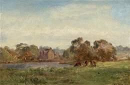 WILLIAM H VERNON (1820-1909, UK)  Landscape