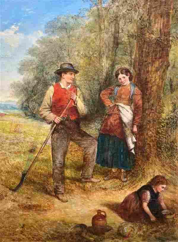 CHARLES HENRY COOK (1859-1942, UK) Genre