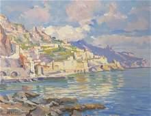 LUCA ALBINO (1884-1952, Italy) Capri