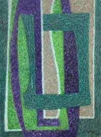 BERNARD SEGAL (1907-1986, New York) Abstract