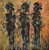 RAIMUNDO GARCIA PARRA (1937-2017, Cuba)  Abstract