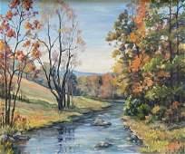 CLARENCE IRA DREISBACH (1903-2003 Pennsylvania) Poconos