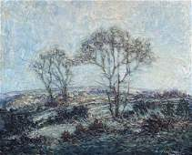 LEONID GECHTOFF (1883-1941, Pennsylvania) Landscape
